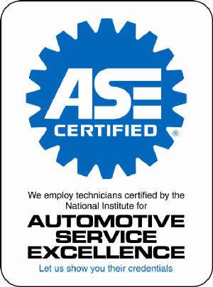 ASE - Automotive Service Excellence Certified Technicians